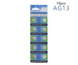 CentechiaKoop 10 Stks AG13 LR44 357A S76E G13 Button Knoopcelbatterij Batterijen 1.55 V Alkaline