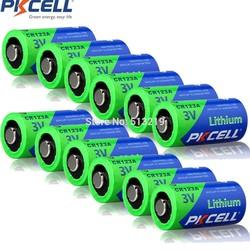 MyXL 12 Stukken CR123A PKCELL 3 V CR123 123A CR17345 KL23a VL123A DL123A 5018LC EL123AP SF123 Ion niet-oplaadbare Lithium batterij