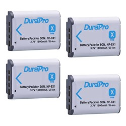 MyXL 4 Pak NP-BX1 NP BX1 NPBX1 Batterij Voor SONY DSC RX1 RX100 RX100iii M3 M2 RX1R WX300 HX300 HX400 HX50 HX60 GWP88 PJ240E HDR-AS15