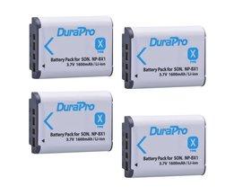 4 Pak NP-BX1 NP BX1 NPBX1 Batterij Voor SONY DSC RX1 RX100 RX100iii M3 M2 RX1R WX300 HX300 HX400 HX50 HX60 GWP88 PJ240E HDR-AS15