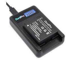 DuraPro DMW-BLG10 BLG10E BLG10PP BLE9 BLE9E BLE9PP Camera Batterij + LCD USB Lader voor Panasonic Lumix DMC GF6 GX7 GF3 GF5 BLE9