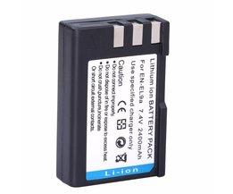 Probty 2400 mAh EN-EL9 EN EL9 EN-EL9a NL EL9a EL9a Ion digitale Camera Batterij AKKU Voor Nikon EN-EL9a D40 D60 D40X D5000 D3000