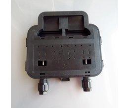 250 W-350 W Solar Junction Box waterdichte IP65 voor Zonnepaneel sluit solar kabel verbinding met 6 diode
