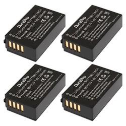 MyXL 4 STKS x DuraPro EN-EL20 NL EL20 ENEL20 Vervanging Li voor NIKON 1 J1 J2 J3 S1 AW1 Coolpix Een PM006 CAMERA S S1