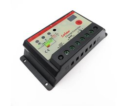 30A 12 V 24 V Auto Solar Laadregelaar met timer, 30 Amps lamp regulator voor LED straat verlichting of solar home systeem