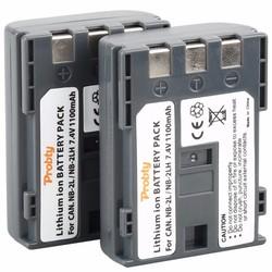 MyXL Probty 2 Stks NB-2L NB 2L NB-2LH Batterij Voor Canon 350D 400D G7 G9 S30 S40 z1S80 S70 S50 S60 Kus N X Rebel XT XTi