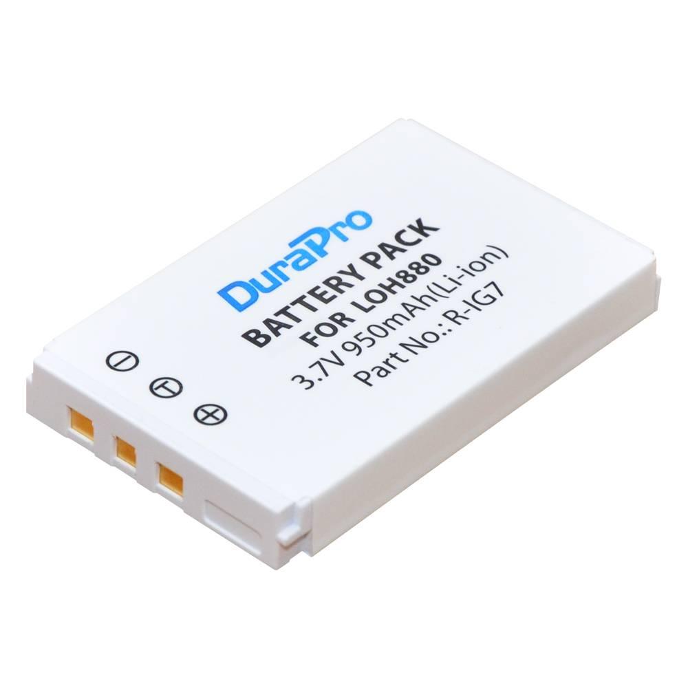 1 st DuraPro 3.7 V 950 mAh R-IG7 Ion Batterij voor Logitech Harmony LOH880 een 900 720 850 880 885 8