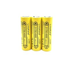 2 STKS LiitoKala Lii-40A Originele 21700 4000 mAh 40A Oplaadbare E Sigaret Batterij past CAPO