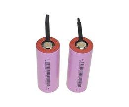Hixon 2 stks IFR 26650 3.2 V 3200 mAh LiFePO4 Oplaadbare Batterij cell met Tabs