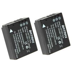 MyXL 2 STKS CGA-S007E CGA S007E S007 S007A BCD10 Camera Batterij voor Panasonic DMC TZ1 TZ2 TZ3 TZ4 TZ5 TZ50 TZ15 batterijen