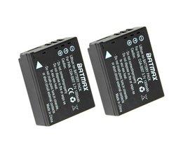 2 STKS CGA-S007E CGA S007E S007 S007A BCD10 Camera Batterij voor Panasonic DMC TZ1 TZ2 TZ3 TZ4 TZ5 TZ50 TZ15 batterijen