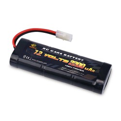 MyXL Melasta 7.2 V 2200 mAh 6-Cell Platte Pack NiMH Batterij met Tamiya Ontlading Plug voor RC Racewagen Speelgoed Hobby