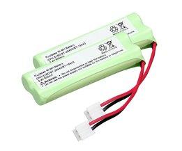 2 pack home telefoon batterij walkie talkie batterij 2.4 V 500 mAh Telefoon Thuis Batterij voor CPH-518D/BT-28443/BT-18443