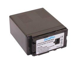 DuraPro Gloed1 Stks 7.2 V 6000 mAh VW-VBG6 Li VW VBG6 VWVBG6 Oplaadbare Camera Batterij Voor Panasonic HDC Camera