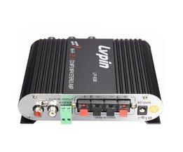 LVPIN 12 V 200 W Mini Stereo-Versterker MP3 Autoradio Kanalen 2 Huis Super Bass