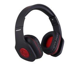 Ausdom AH862 Originele Draadloze Bluetooth Oortelefoon handsfree Gesprekken Hoofdtelefoon Opvouwbare Sport Muziek Headsets Enorme Knoppen pkM06