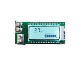 Lithium Ion batterij tester LCD meter Spanning/Stroom/Capaciteit/18650 26650