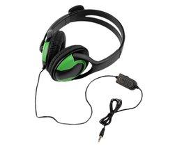 Wired Headset Hoofdtelefoon Oortelefoon Steoro Microfoon voor PS4 Gaming PC Chat