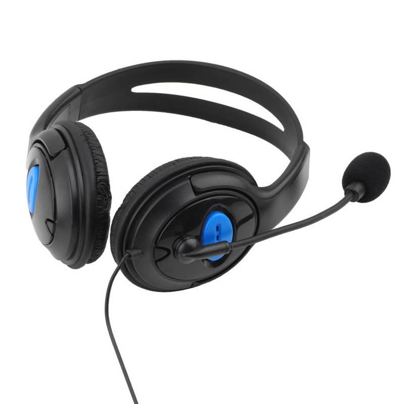 Verkoper Raden 3.5mm Hoofdtelefoon Game Gaming Hoofdtelefoon Headset met Microfoon Wired voor PS4 So