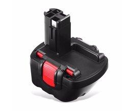 FLOUREON 12 V 3000 mAh Mh Vervanging Oplaadbare Batterij voor Bosch 18 VE-2 GDS 18 V-HT GSR 18 VE-2 PSB 18VE PSR 18VE