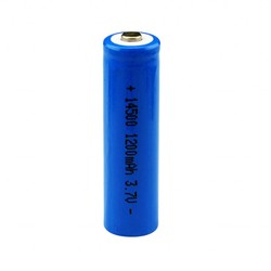 MyXL Centechia 1 Stks/set Hoge Capaciteit 14500 Batterij 3.7 V 1300 Mah Oplaadbare Batterij Voor Led Flashl