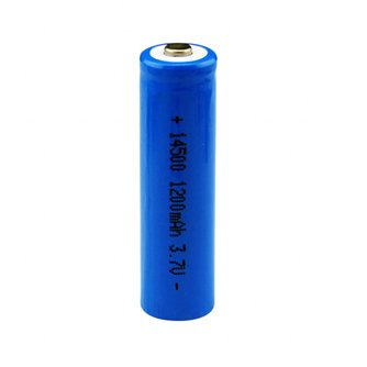 Centechia 1 Stks/set Hoge Capaciteit 14500 Batterij 3.7 V 1300 Mah Oplaadbare Batterij Voor Led Flashl