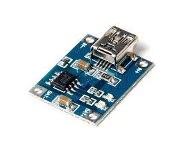 MLLSE 5 V Mini USB 1A Lithium Batterij Opladen Board Charger Module A866