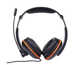 3.5mm Wired Gaming Headset Hoofdtelefoon Oortelefoon Met Microfoon Voor PS4 Games Hoofdtelefoon met Ruisonderdrukking