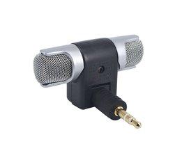 Kebidumei Mini 3.5mm Microfoon Stereo Mic Voor Opname Mobiele Telefoon Studio Voor Laptop Microfoon