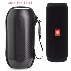 MyXL Draagbare Reistas voor JBL Flip4 Flip 4 Draadloze Bluetooth Speaker Case Beschermhoes EVA Cover hoogwaardige Koolstofvezel