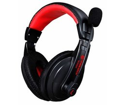 2017hoofd Gemonteerd Subwoofer Super Bass Stereo headset Oortelefoon tij computer games Gaming Headset met Microfoon voor PC Gamer
