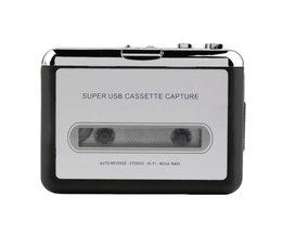 Tape naar PC Super USB Cassette-to-MP3 Converter Capture Audio Muziekspeler
