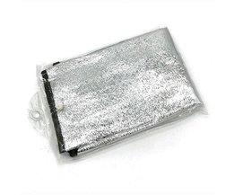 Aluminiumfolie stuurhoes hittebescherming