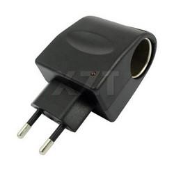 MyXL Koop Auto Sigarettenaansteker Stopcontact Plug Adapter Converter 220 V AC naar 12 V DC EU US Plug