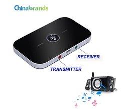Bluetooth RT-B6 Draadloze Adapter HIFI Audio Bluetooth Ontvanger en zender Met 3.5 MM Audio En Uitgang Voor TV MP3 PC