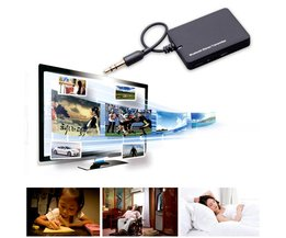 DL-LINK 3.5mm Mini Bluetooth Audio Zender A2DP Stereo Zender Transmite Dongle Adapter voor TV iPod Mp3 Mp4 PC