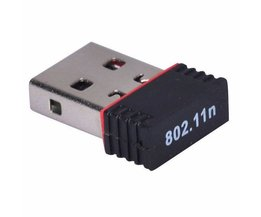 USB 2.0 150 Mbps 11n 2.4 GHz Wifi Internet Dongle Nano Draadloze N Adapter Ondersteunt Windows, Mac OS, Linux-Ralink 7601 Chipset in
