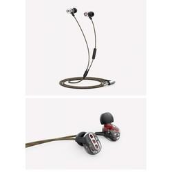 MyXL QKZ KD8 Dubbele Unit Drive In Ear Oortelefoon Bass Subwoofer Oortelefoon HIFI DJ Monito Running Sport Oortelefoon Headset Oordopjes
