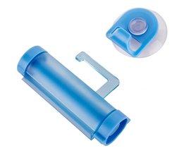 Pro Badkamer Praktische Rolling Tube Tandpasta Squeezer Gemakkelijk Dispenser Badkamer Tandpasta Houder Badkamer Gadgets Willekeurig