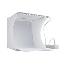 MyXL Draagbare Fotostudio LED Licht Vouwen Lightbox Fotografie Softbox Verlichting Kit Light Box voor DSLR Camera Achtergrond