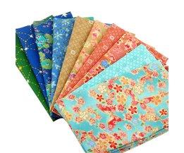 Japanse Stijl Patchwork Katoen Quilten Fat Quarter Bundels Stof Naaien Weefsels Voor Beddengoed 40*50 cm 10 stks/partij