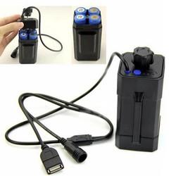 MyXL Beste prijs18650 Batterij Case Box Praktische Fiets LED Light Waterdicht Batterij Case Box 8.4 V 4x18650JAN9