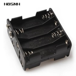 MyXL 8 * AA 12 V Plastic Batterij Clip Slot Opslag Houder Box Case Terug naar 8 AA Batterij Slots Batterij aa pack 63.29*57.82*30mm