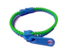10 stks/set Kids Kinderen Hand Zintuiglijke Speelgoed Stress Focus Speelgoed Meisje Jongen Rits Armband FidgetSpeelgoed