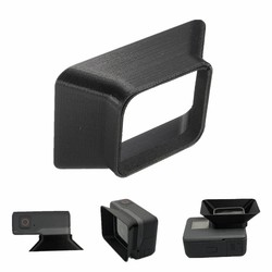 MyXL Collectie Camera Zonnekap Zwart Plastic 3D Gedrukt Voor Gopro Hero 5 6 Camera Lens