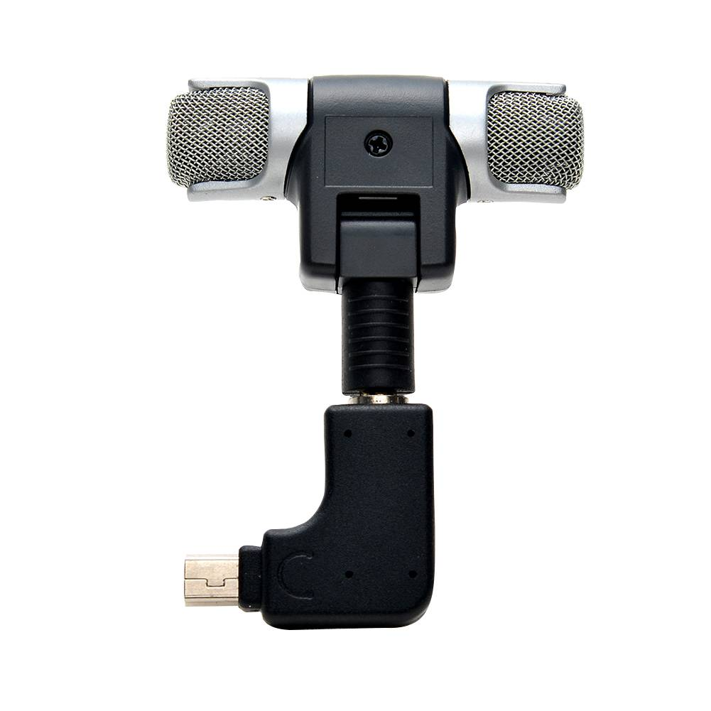 Side open skeleton frame behuizing case hi-fi mimi microfoon microfoon adapter kit voor gopro hero 3