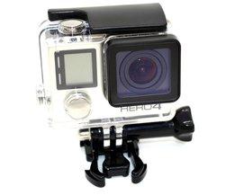 Voor GoPro 4 Waterdichte Behuizing Case voor Gopro Hero 4 3 + Hero4 Zwart GP225