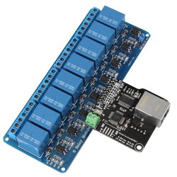 MyXL Ethernet Controle Module LAN WAN Netwerk WEB Server Controle Module Rj45-poort en 8 Kanaals Relais Controle Module