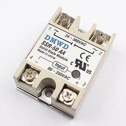 MyXL TOPDMWD solid state relais SSR-100DD 100A 3-32 V DC NAAR 5-60 DC SSR 100DD relais solid state