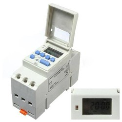 MyXL DIN Rail Digitale LCD Programmeerbare Timer AC 220 V 16A Tijdrelais Schakelaar
